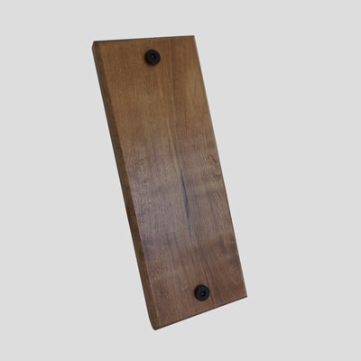Bike Rack Accessory - Wall protector made from solid Maple hardwood